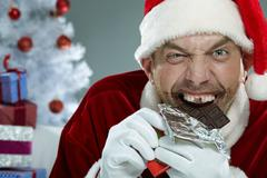 Crazy sweet tooth Stock Photos