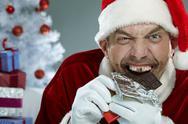 Crazy sweet tooth Stock Photos
