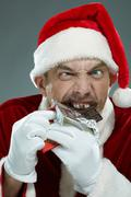 Christmas greed Stock Photos