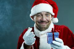 Strange Santa Stock Photos