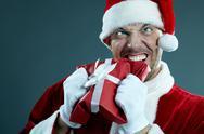 Christmas nightmare Stock Photos