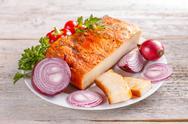 Fat bacon Stock Photos
