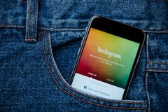 Instagram is most popular photograph social networking site in world Kuvituskuvat