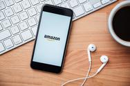 Amazon the largest internet retailer in United States Stock Photos
