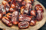 Dried dates fruit Stock Photos