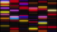 Colorful Neon Lamps Wall abstract background Stock Footage