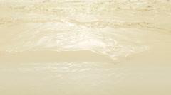 Sea of Fresh Milk. Stock Footage