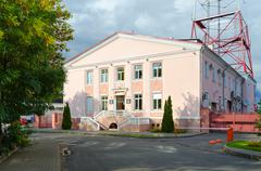 Radio and television center of broadcasting company Gomel, Belarus Stock Photos