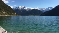 Lake Achensee - Austria Stock Footage