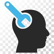 Brain Tool Vector Icon Stock Illustration