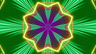 Abstract background, kaleidoscope colorfull light and particles, loop Stock Footage