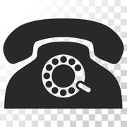 Pulse Phone Vector Icon Stock Illustration