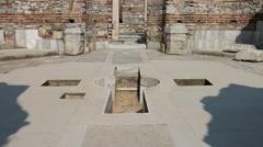 St. Jean Church Ruins Izmir Selcuk HD Video Stock Footage