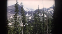 1962: beautiful mountains and forest CAMDEN, NEW JERSEY Stock Footage
