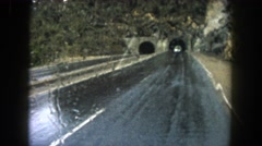 1962: when you are out and about and your wipers break MINNESOTA Stock Footage