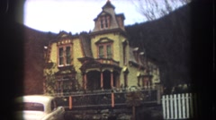 1962: the creepy psycho house and bates motel used in alfred hitchcock's 1960 Stock Footage