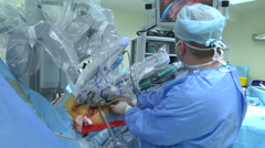 Surgery on the heart. Stock Footage