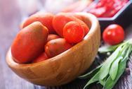 Tomato and sauce Stock Photos