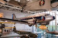 The National Air and Space Museum in Washington D.C. Stock Photos