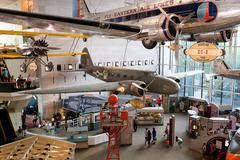 The National Air and Space Museum in Washington D.C. Kuvituskuvat