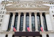 The New York Stock Exchange at Wall Street in New York Stock Photos
