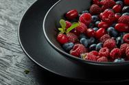 Fresh healthy berries Stock Photos