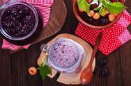 Chia pudding Stock Photos