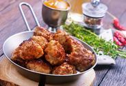 Meat balls Stock Photos