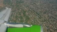 Almaty suburb with a bird's-eye view Stock Footage