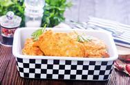 Chicken cutlets Stock Photos