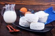 Milk products Stock Photos