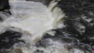 Water falls, hogs back, Ottawa, Ontario, Canada, Stock Footage