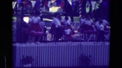 1965: kids are dancing on the festival CLARKSON, NEBRASKA Stock Footage