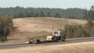 Country Roads Traffic Stock Footage