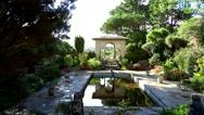 Italian Gardens Bantry Bay Cork, Ireland Stock Footage