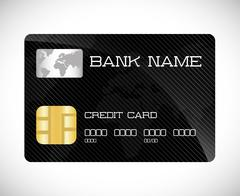 Payment with credit card design Stock Illustration