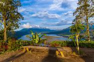 Lake Buyan - Bali Island Indonesia Stock Photos