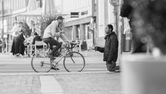 Refugee Begging for Help Kuvituskuvat