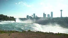 Majestic Niagara Falls Stock Footage