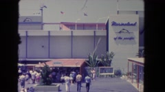 "1962: an exterior shot of venue, ""marineland of the pacific"". SAN PEDRO Stock Footage"