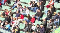 BUCHAREST,ROMANIA-.BRD Nastase Tiriac Trophy 2015 professional tennis. Stock Footage