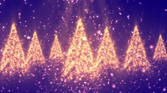 Christmas Glitters Red Loopable Background Stock Footage