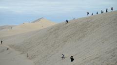 Dune of Pylat, France, EU, Europe Stock Footage