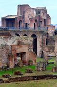 Palatine Hill in Rome, Italy. Stock Photos