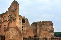 Roman Forum in Rome, Italy. Stock Photos