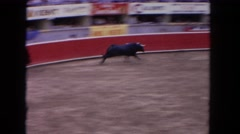 1962: the sport of the bullfight or la corrida del toros SAN PEDRO, CALIFORNIA Stock Footage