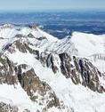 Winter mountain landscape. Stock Photos