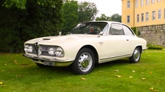 Alfa Romeo 1900 CSS classic Italian sports car Stock Footage