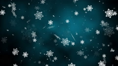 Winter Snow Loopable background Stock Footage