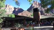 Zion Visitors Center, 2016 Oct. Stock Footage